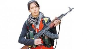 kurdische kämpferin