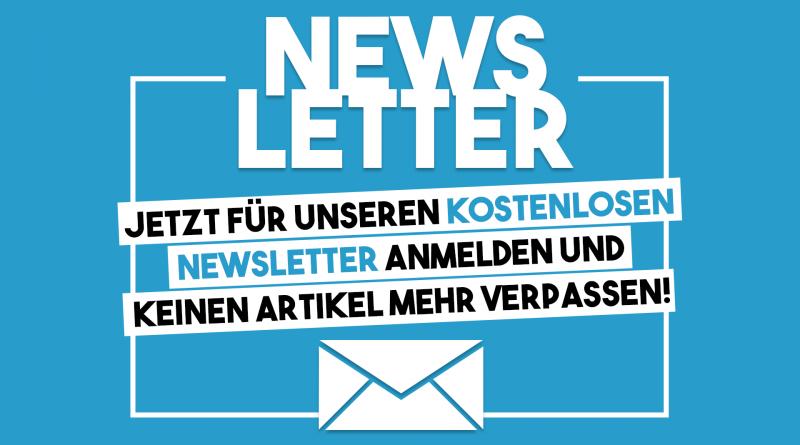 Jetzt für unseren Newsletter anmelden!