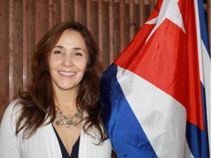 Mariela Castro Espín is a Cuban professor and member of Parliament. She was in Ottawa recently before attending Toronto's World Pride 2014.
