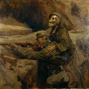 HGM_Larwin_Soldat_und_Tod