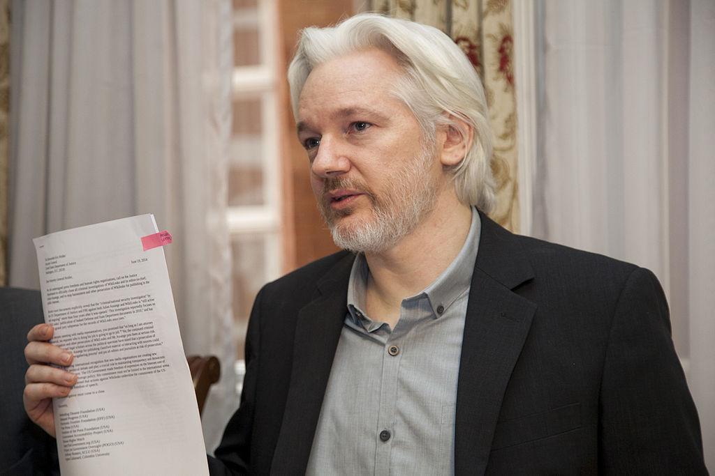 Julian Assange (Foto: Cancillería del Ecuador; Lizenz: CC BY-SA 2.0)