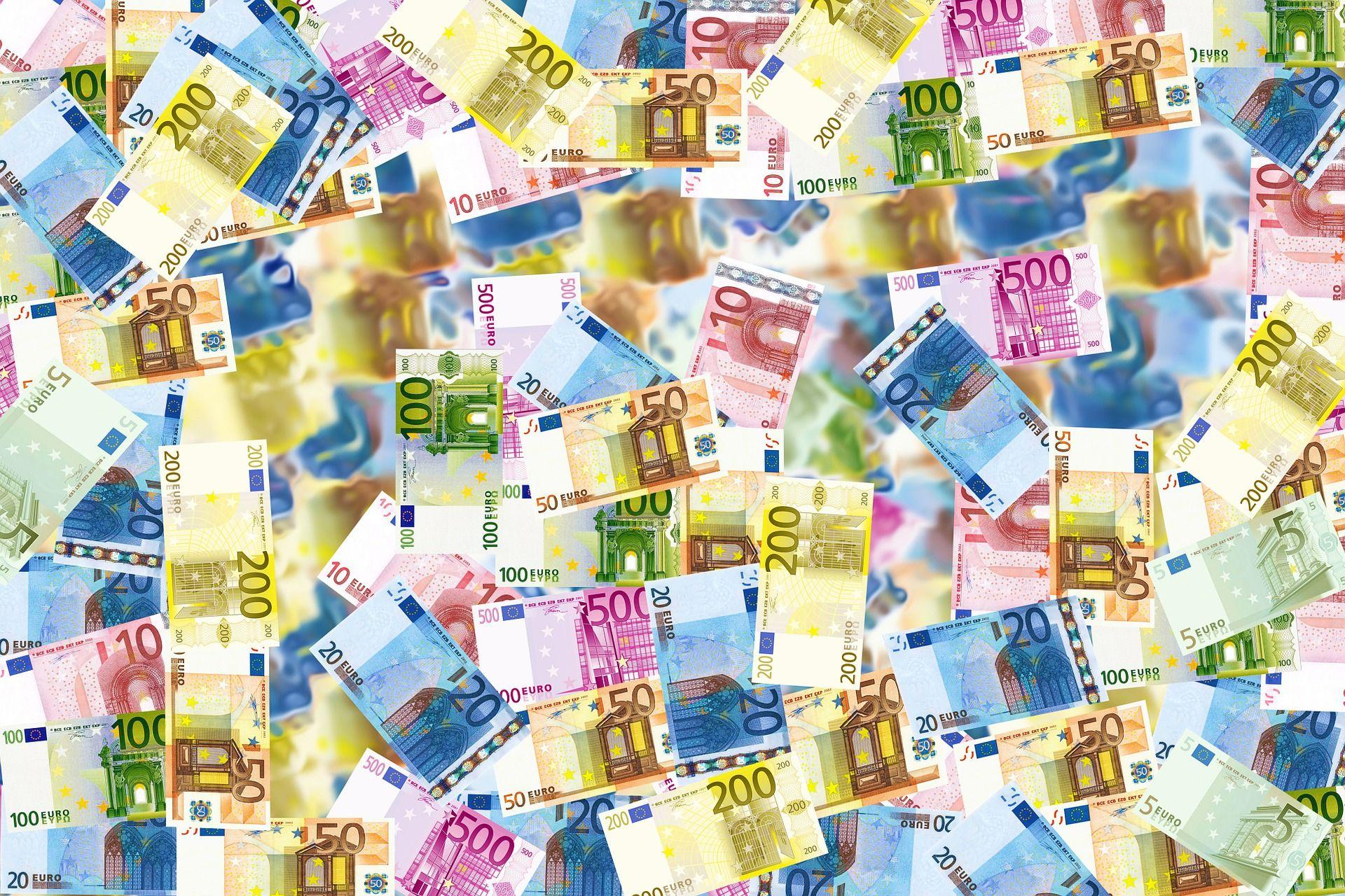 Euro-Geldscheine (pixabay.com; public domain)