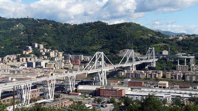 Brücke Genua Eingestürzt