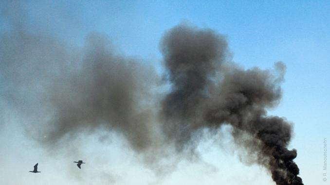 Luftverschmutzung ist die größte Gesundheitsgefährdung