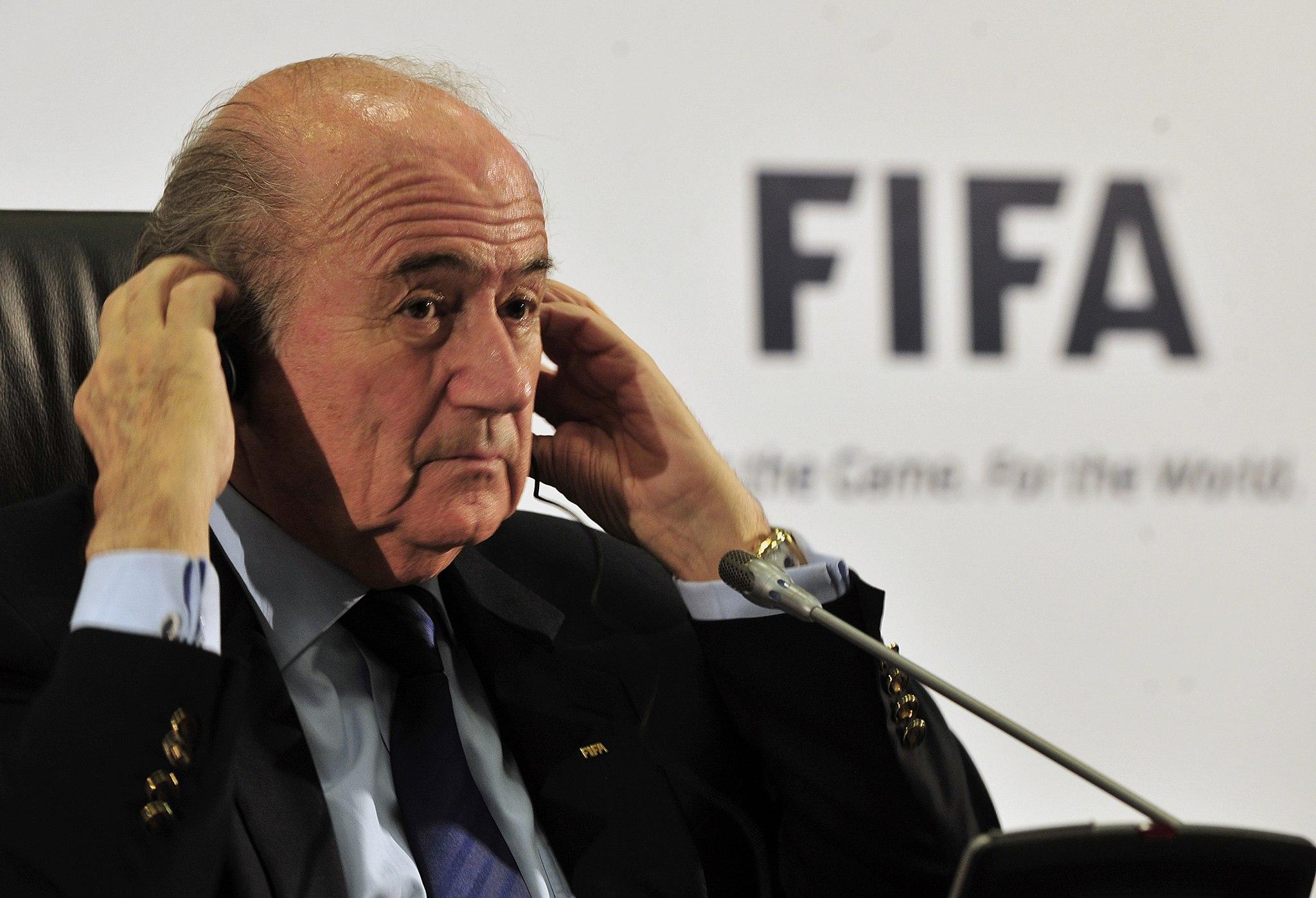 Joseph Blatter 2010.