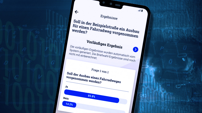 Bürger-App am Handy