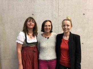 Elisabeth Krenner (stv. Vorsitzende Monitoringausschuss Salzburg), Karin Astegger (Vorsitzende Monitoringausschuss Salzburg), Christine Steger (Vorsitzende Bundesmonitoringausschuss)