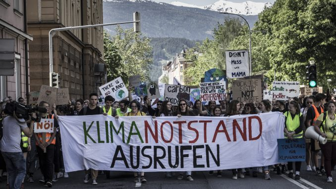 """Fridays for Future"" in Innsbruck am 24. Mai 2019"