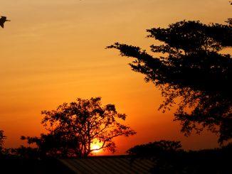 Sonnenuntergangshimmel