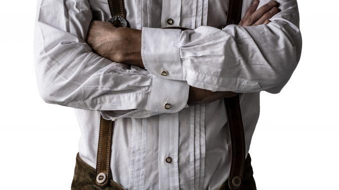 Mann in Lederhose