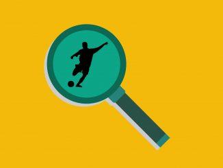 Fußballer im Fokus