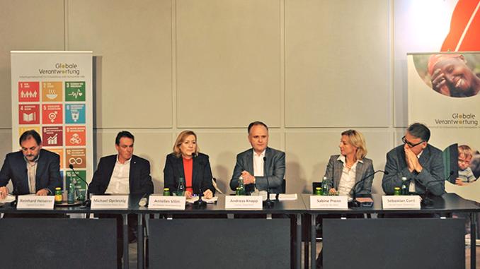 Pressekonferen der AG Globale Verantwortung