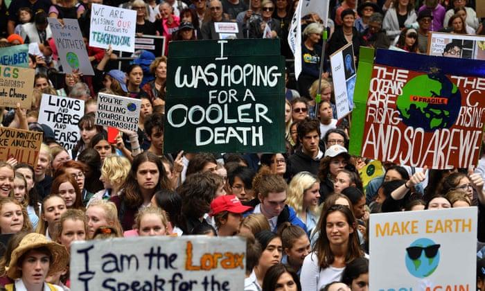 Klimastreik.