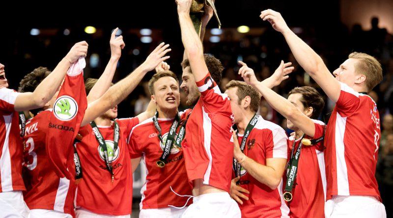 Österreichs Herren-Hockey-Team bei der Hallen-WM 2018