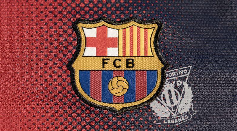 Wappen FC Barcelona über Leganés