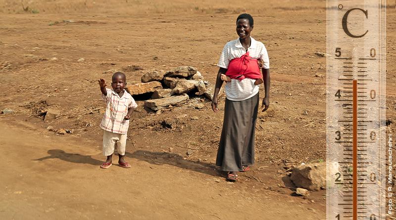 Trockenheit und Hitzewellen erwarten uns - Foto: R. Manoutschehri