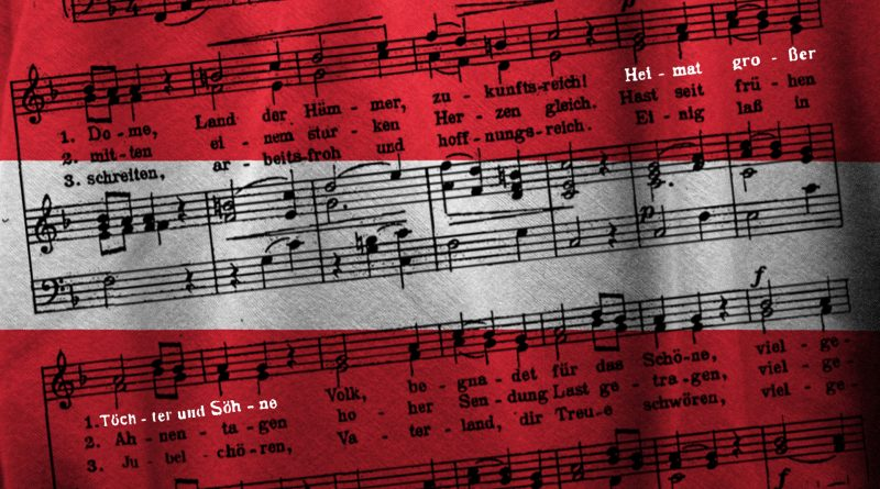 Teile der österreichischen Bundeshymne
