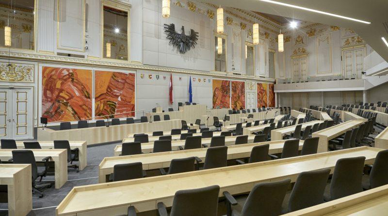 Parlament in der Hofburg © Parlamentsdirektion / Johannes Zinner