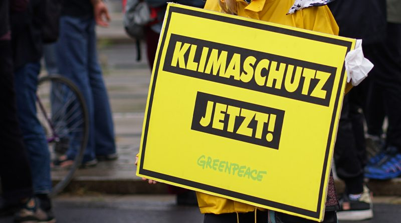 Klimaschutz jetzt! Greenpeace