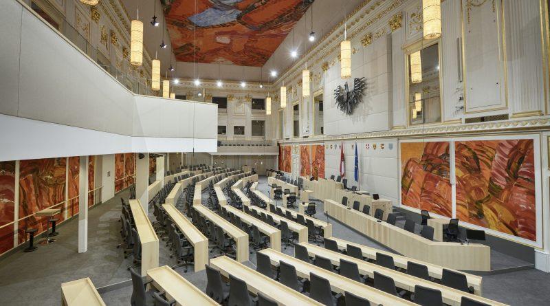 Das Parlament in der Hofburg