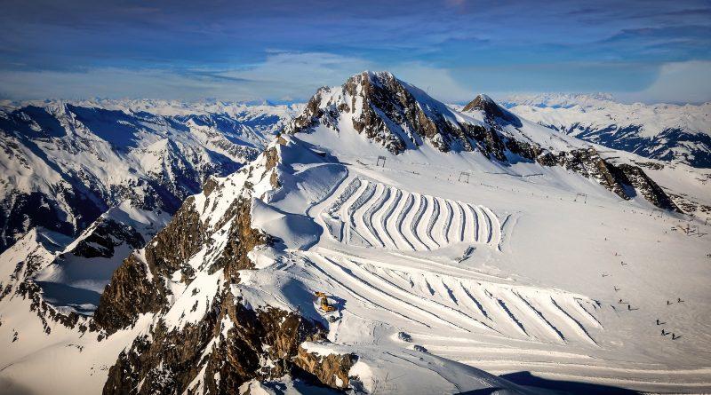 Das Kitzsteinhorn im Winter