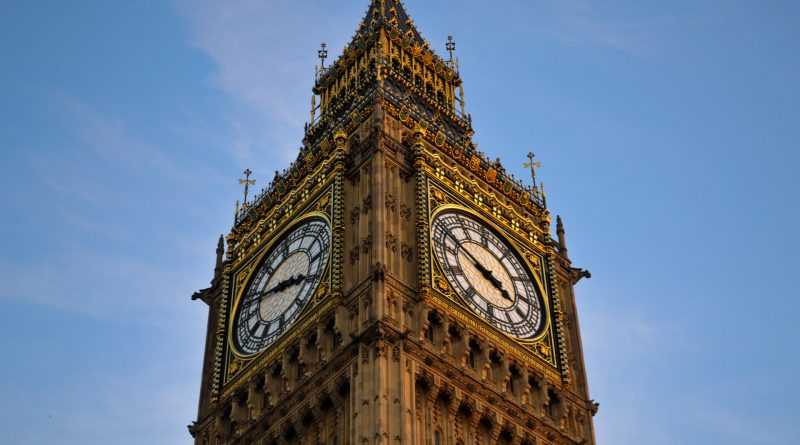 Nahaufnahme des Big Ben in London