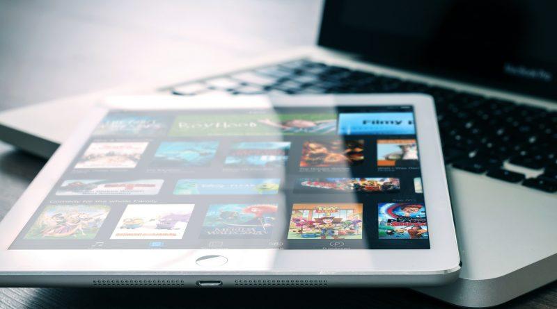 Verschieden Filme auf einem iPad