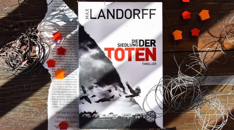 """Buchcover von """"Die Siedlung der Toten"""""""