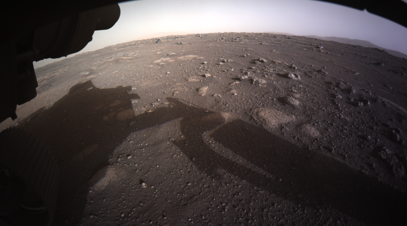 Blick auf den Mars