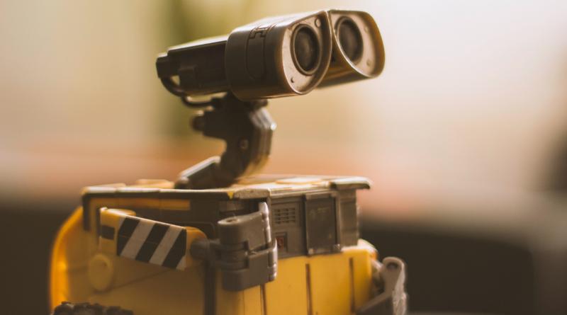 Nahaufnahme von Wall-E