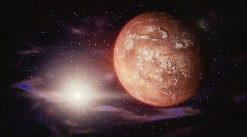 Modell vom Mars