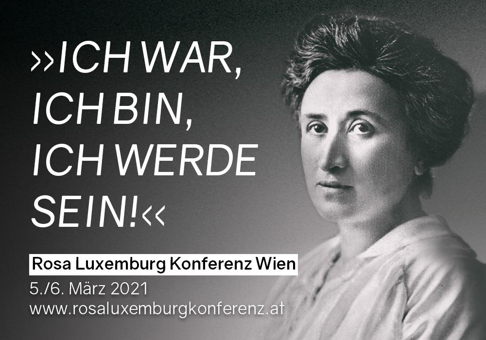 Die Rosa Luxemburg Konferenz 2021 in Wien