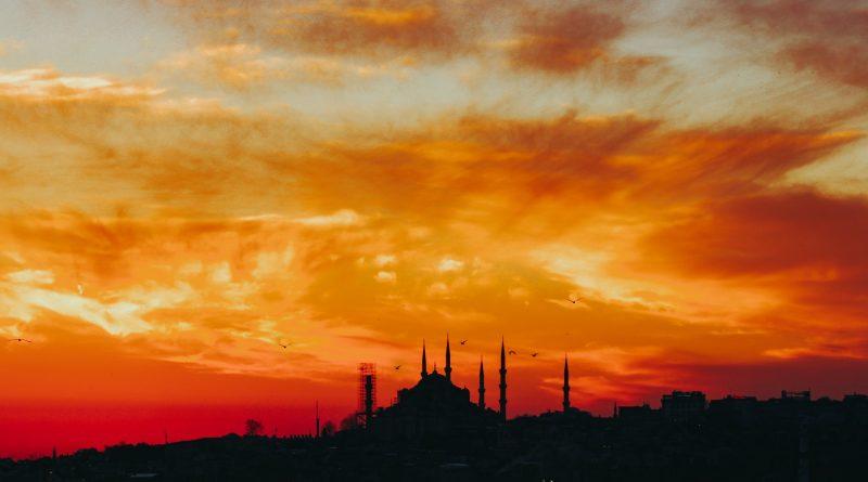 Istanbul zu Sonnenuntergang