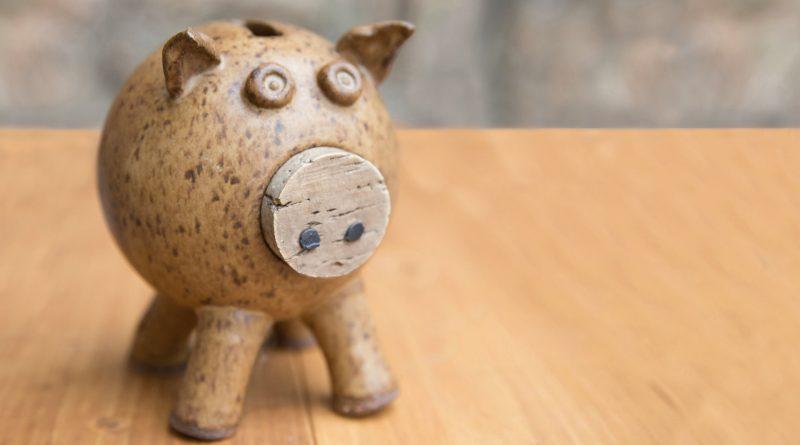 Ein Schweinchen aus Keramik