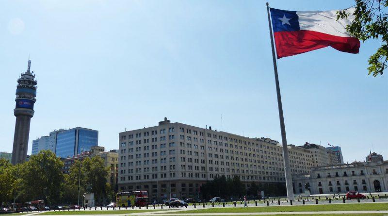 Santiago de Chile, Flagge Chiles