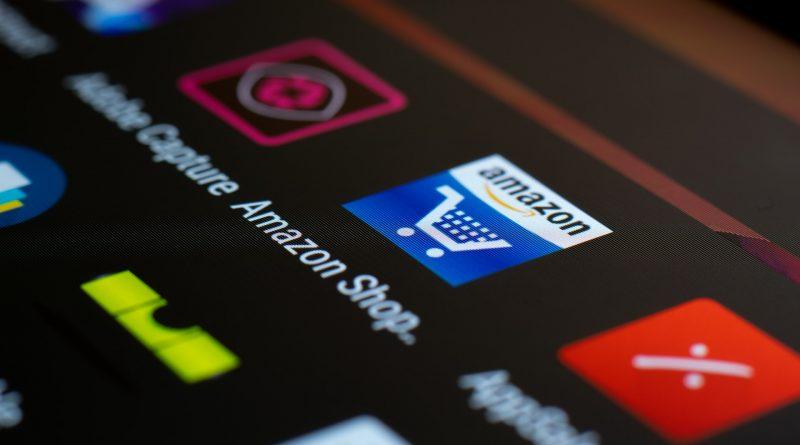 Amazon-Shooping-App auf dem Handy