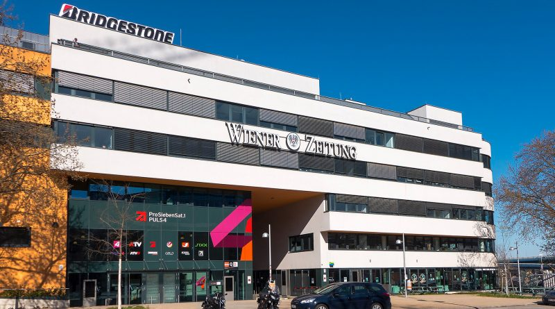 Gebäude der Wiener Zeitung