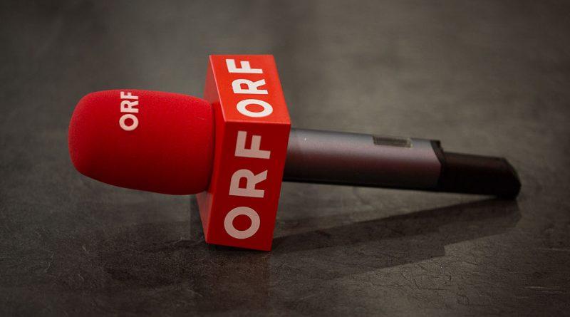 Mikrophon des ORF liegt am Boden
