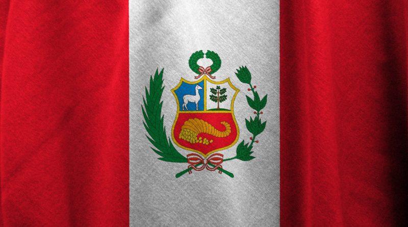 Flagge von Peru