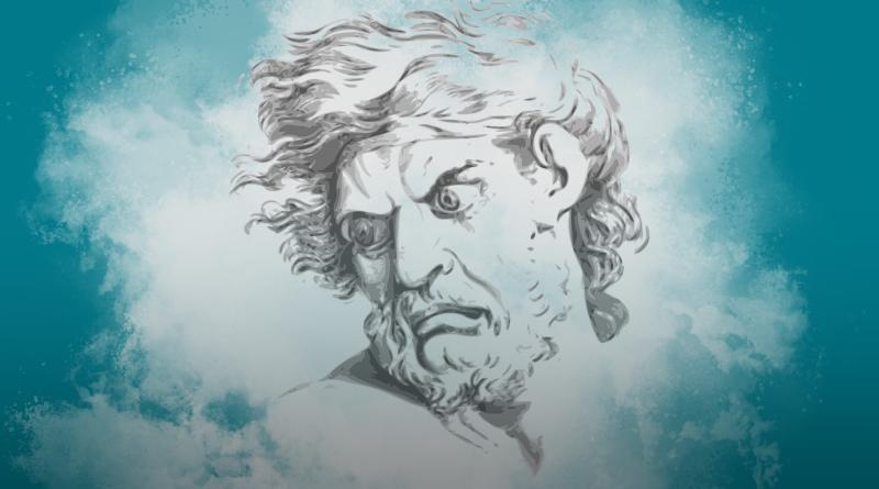 Zeichnung eines Männerkopfes, der skeptisch dreinschaut